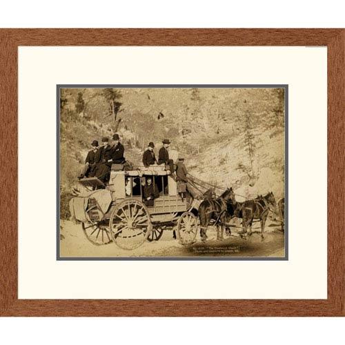 Global Gallery Deadwood Coach By John C.H. Grabill, 20 X 24-Inch Wall Art