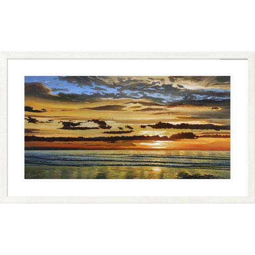Global Gallery Alba Sul Mare By Adriano Galasso, 26 X 44-Inch Wall Art