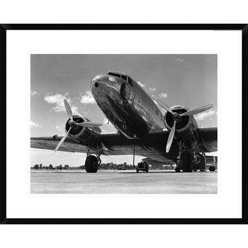 Global Gallery 1940S Passenger Airplane By H. Armstrong Roberts, 24 X 30-Inch Wall Art