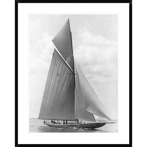 Global Gallery The Vanitie During The Americas Cup, 1910 By Edwin Levick, 38 X 30-Inch Wall Art