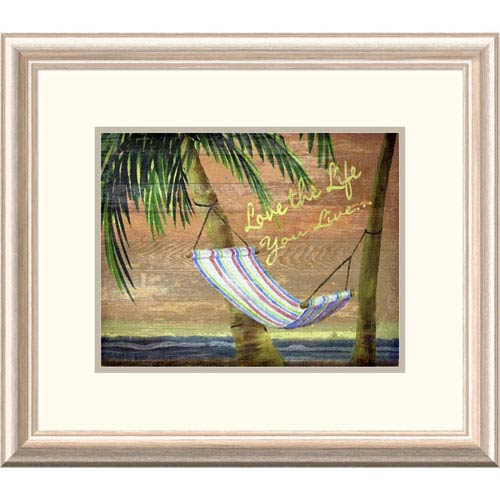 Global Gallery Swaying On The Beach By Karen J. Williams, 19 X 22-Inch Wall Art