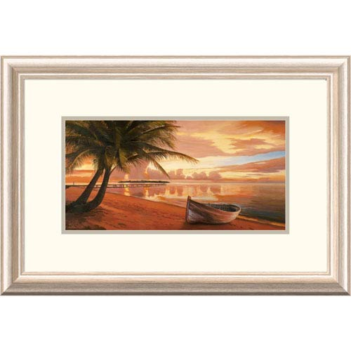 Global Gallery Tramonto Ai Tropici By Adriano Galasso, 16 X 24-Inch Wall Art