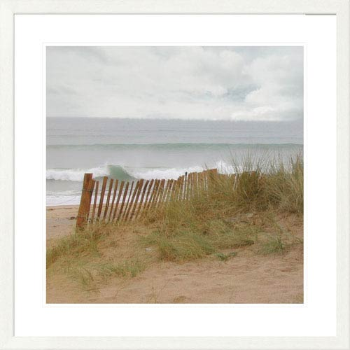 Global Gallery Seaside I Left By Judy Mandolf, 32 X 32-Inch Wall Art