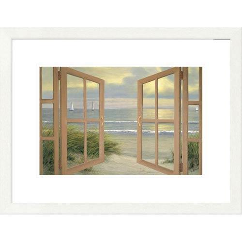 Global Gallery Gentle Breeze Through Door By Diane Romanello, 20 X 26-Inch Wall Art