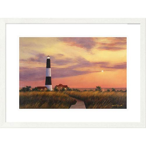 Global Gallery Fire Island Lighthouse By Diane Romanello, 24 X 32-Inch Wall Art