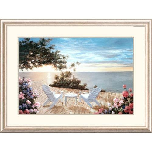 Global Gallery Blue Serenade By Diane Romanello, 28 X 38-Inch Wall Art
