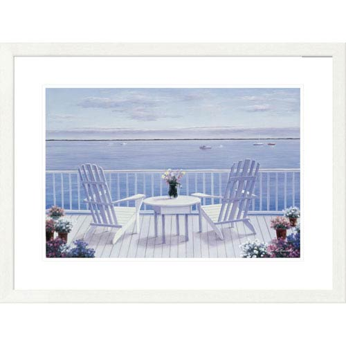 Global Gallery Lazy Afternoon By Diane Romanello, 24 X 32-Inch Wall Art