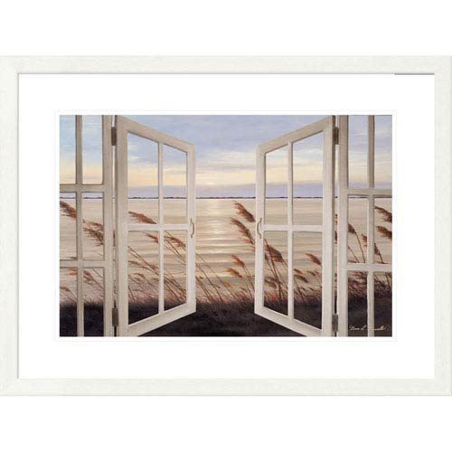 Global Gallery Salt Air Breeze By Diane Romanello, 24 X 32 Inch Wall ...