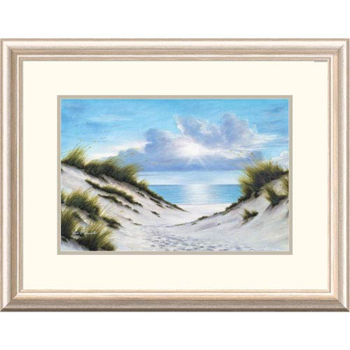Global Gallery Sand And Sea By Diane Romanello, 20 X 26-Inch Wall Art