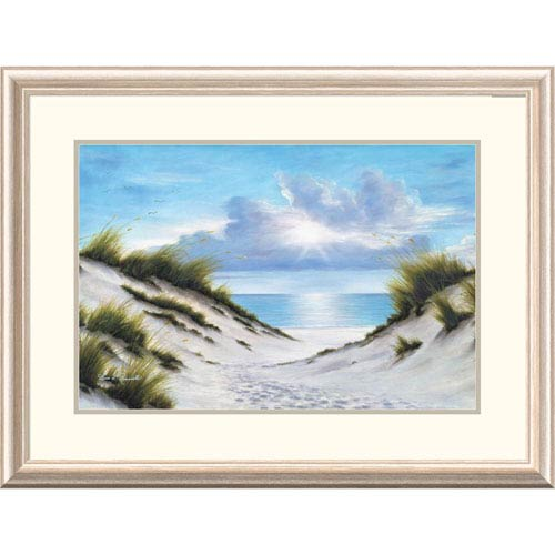 Global Gallery Sand And Sea By Diane Romanello, 24 X 32-Inch Wall Art