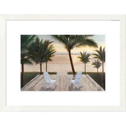 Global Gallery Palm Beach Retreat By Diane Romanello, 20 X 26-Inch Wall Art