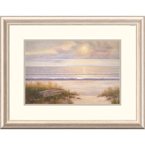 Global Gallery Ocean Surf By Diane Romanello, 20 X 26-Inch Wall Art