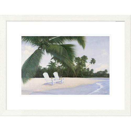 Global Gallery Island Hideaway By Diane Romanello, 20 X 26-Inch Wall Art