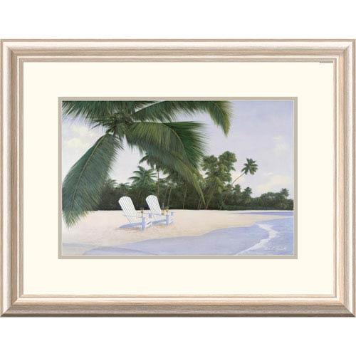 Global Gallery Island Hideaway By Diane Romanello, 20 X 26-Inch Wall Art