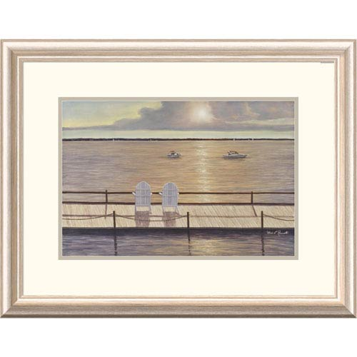 Global Gallery On The Bay By Diane Romanello, 20 X 26-Inch Wall Art