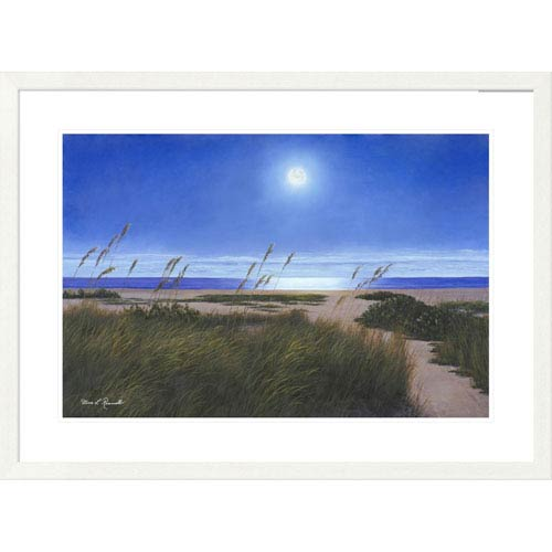 Global Gallery Blue Moon By Diane Romanello, 28 X 38-Inch Wall Art