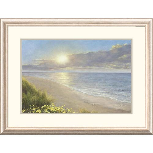 Global Gallery Beach Serenity By Diane Romanello, 24 X 32-Inch Wall Art