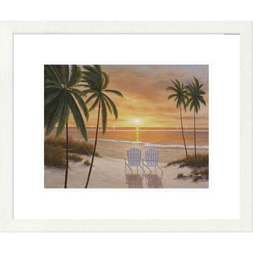 Global Gallery Tropical Sun Watch By Diane Romanello, 20 X 24-Inch Wall Art