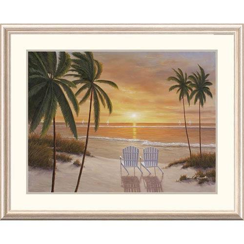 Global Gallery Tropical Sun Watch By Diane Romanello, 32 X 40-Inch Wall Art