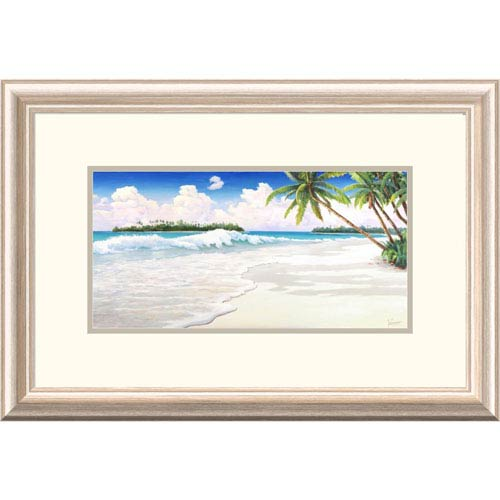 Global Gallery Onda Tropicale By Adriano Galasso, 16 X 24-Inch Wall Art