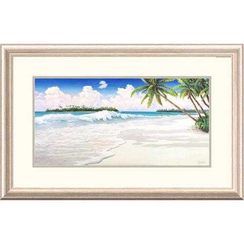 Global Gallery Onda Tropicale By Adriano Galasso, 20 X 32-Inch Wall Art