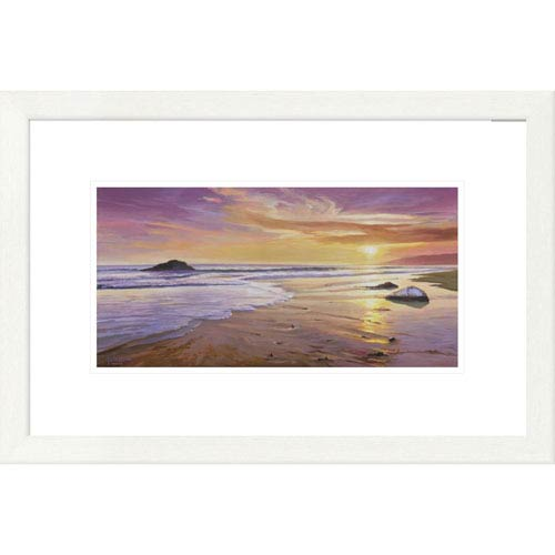 Global Gallery Tramonto Sul Mare By Adriano Galasso, 16 X 24-Inch Wall Art
