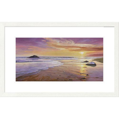 Global Gallery Tramonto Sul Mare By Adriano Galasso, 20 X 32-Inch Wall Art