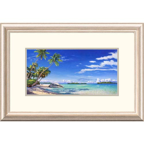 Global Gallery Spiaggia Tropicale By Adriano Galasso, 16 X 24-Inch Wall Art