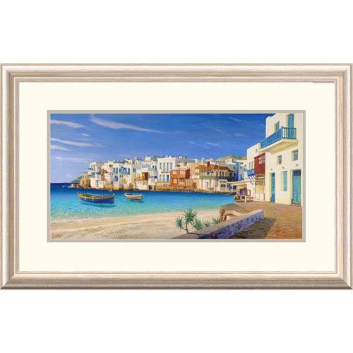 Global Gallery Mykonos By Adriano Galasso, 20 X 32-Inch Wall Art