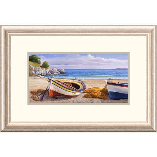 Global Gallery Pomeriggio Mediterraneo By Adriano Galasso, 16 X 24-Inch Wall Art