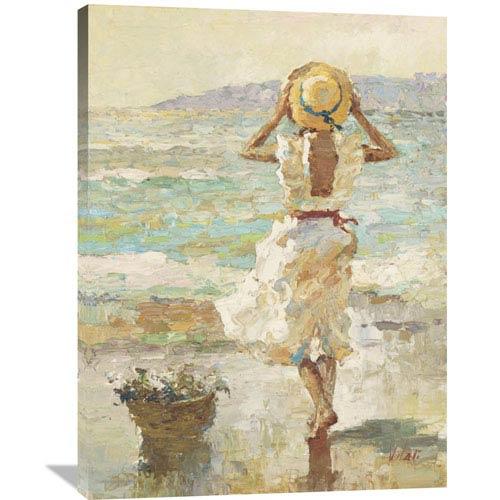 Global Gallery Seaside Summer I By Vitali, 30 X 40-Inch Wall Art