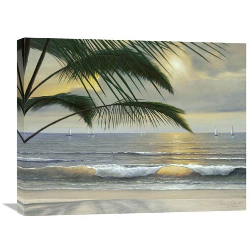 Global Gallery Paradisio By Diane Romanello, 28 X 22-Inch Wall Art