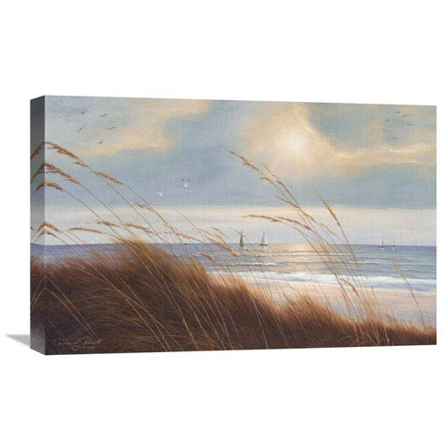 Global Gallery Sailboat Breezeway By Diane Romanello, 24 X 16-Inch Wall Art