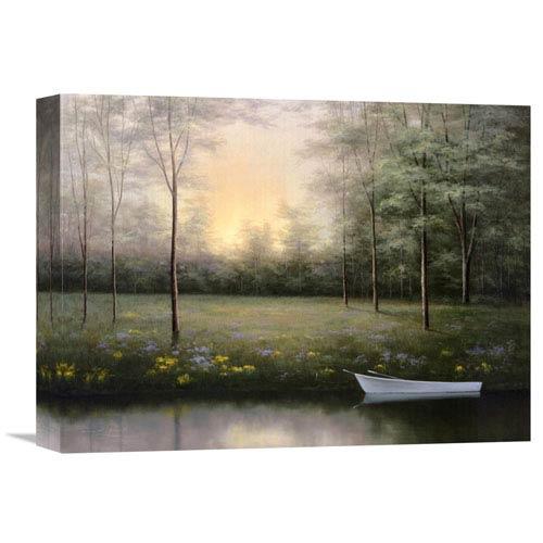 Global Gallery Secret Glen By Diane Romanello, 16 X 12-Inch Wall Art
