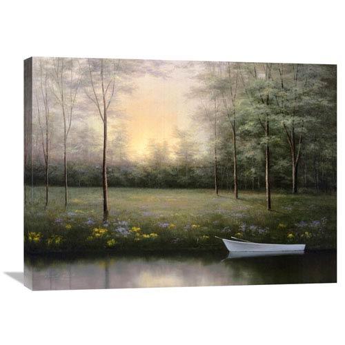 Global Gallery Secret Glen By Diane Romanello, 32 X 24-Inch Wall Art