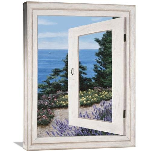 Global Gallery Bay Window Vista Ii By Diane Romanello, 24 X 32-Inch Wall Art