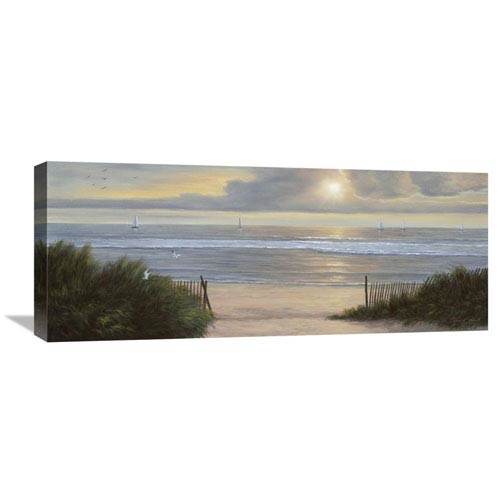 Global Gallery Summer Moments Ii By Diane Romanello, 30 X 12-Inch Wall Art