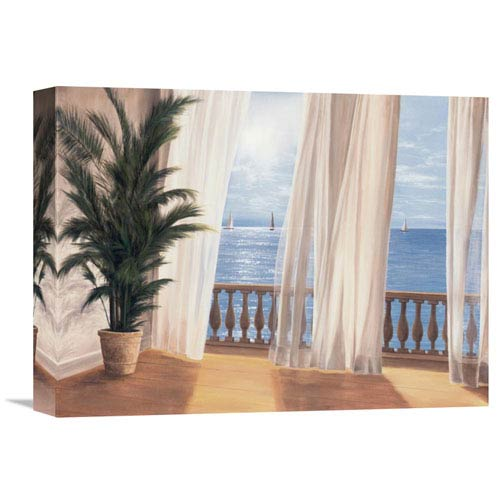 Global Gallery Soft Breeze By Diane Romanello, 16 X 12-Inch Wall Art