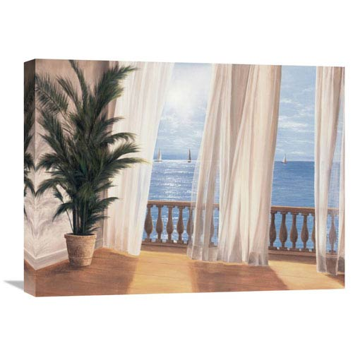 Global Gallery Soft Breeze By Diane Romanello, 24 X 18-Inch Wall Art