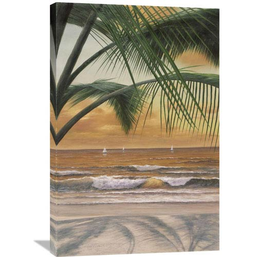 Global Gallery Paradiso Sunset By Diane Romanello, 24 X 36-Inch Wall Art