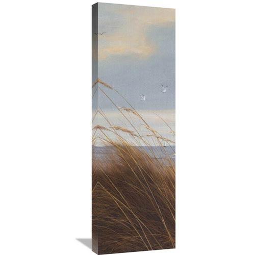 Global Gallery Sailboat Breezeway Panel I By Diane Romanello, 12 X 36-Inch Wall Art