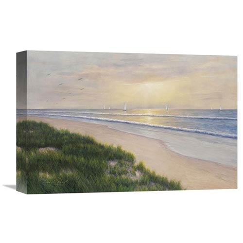 Global Gallery Seaside By Diane Romanello, 18 X 12-Inch Wall Art