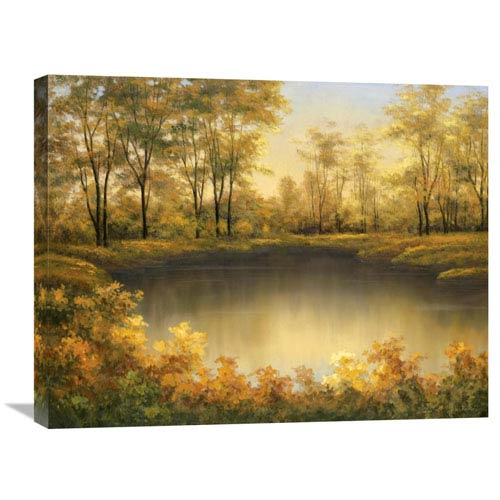 Global Gallery Autumns Song By Diane Romanello, 28 X 22-Inch Wall Art