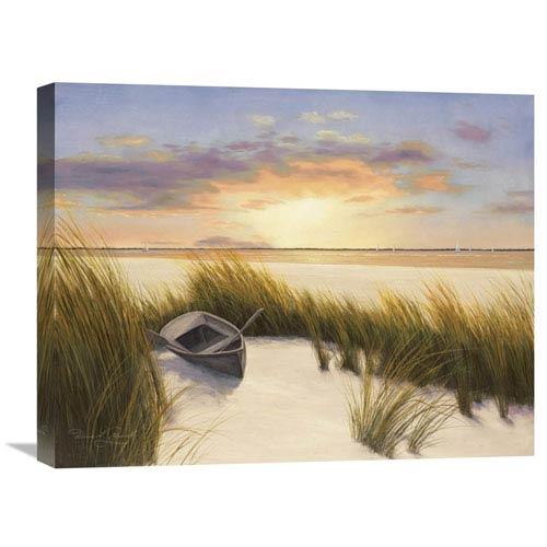 Global Gallery Beach Hideaway By Diane Romanello, 24 X 20-Inch Wall Art