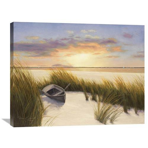 Global Gallery Beach Hideaway By Diane Romanello, 35 X 28-Inch Wall Art