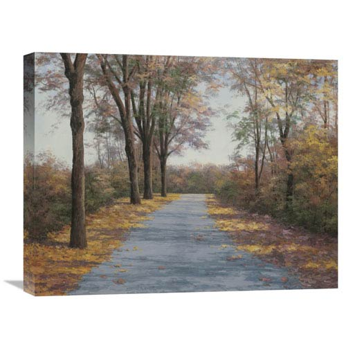 Global Gallery October Walk By Diane Romanello, 24 X 20-Inch Wall Art