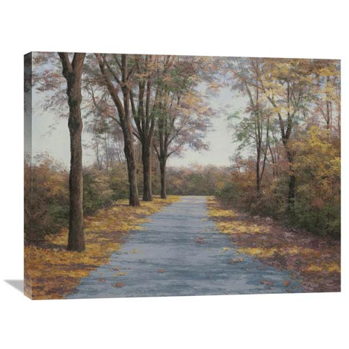 Global Gallery October Walk By Diane Romanello, 35 X 28-Inch Wall Art
