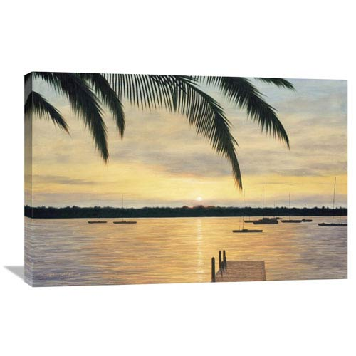 Global Gallery Indian River By Diane Romanello, 36 X 24-Inch Wall Art