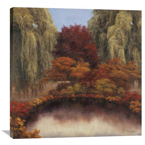 Global Gallery Autumns Glow By Diane Romanello, 36 X 36-Inch Wall Art