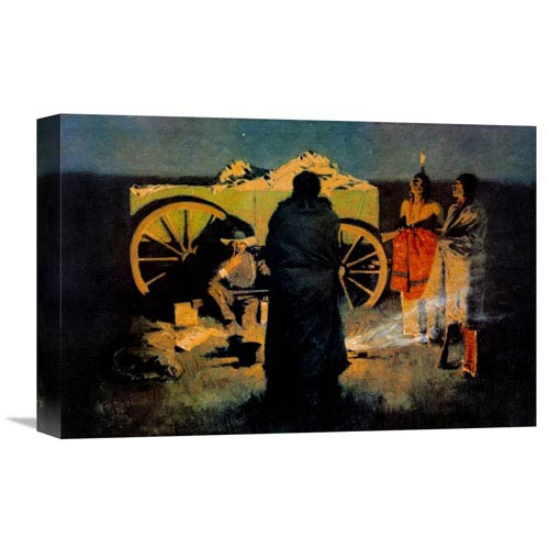 Global Gallery Shotgun Hospitality By Frederic Remington, 18 X 12-Inch Wall Art